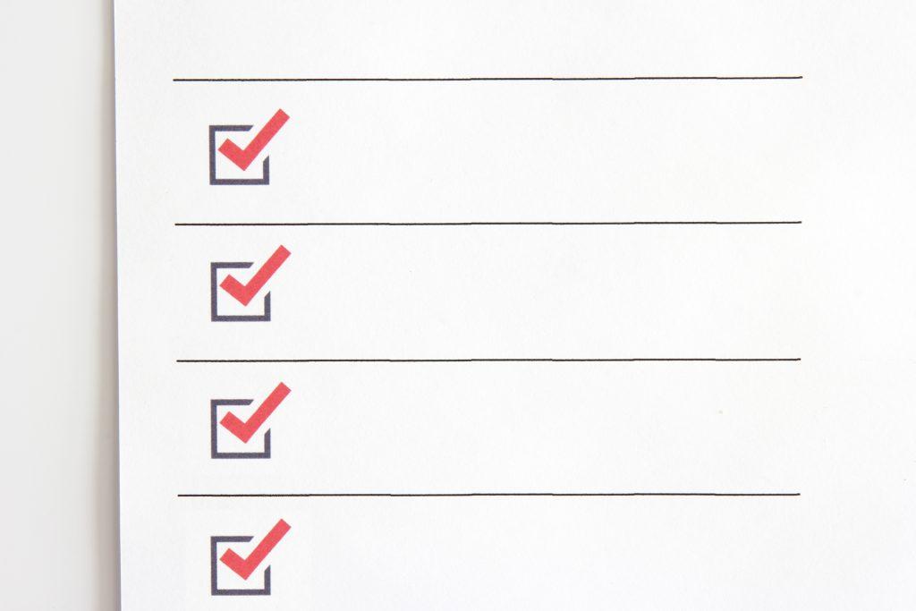 両立支援助成金のチェックリスト