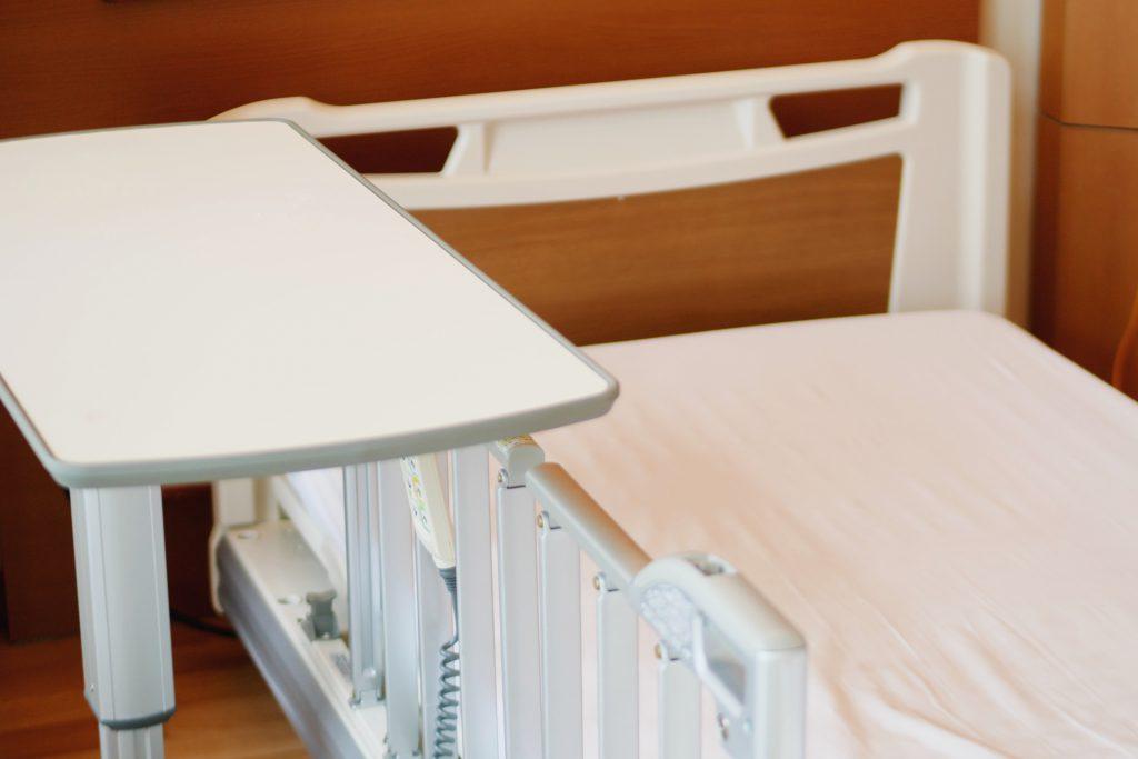 助成金の対象となる医療用ベッド導入のイメージ