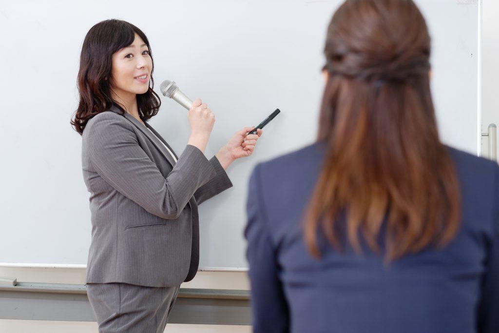 雇用調整助成金の対象となる教育訓練の例