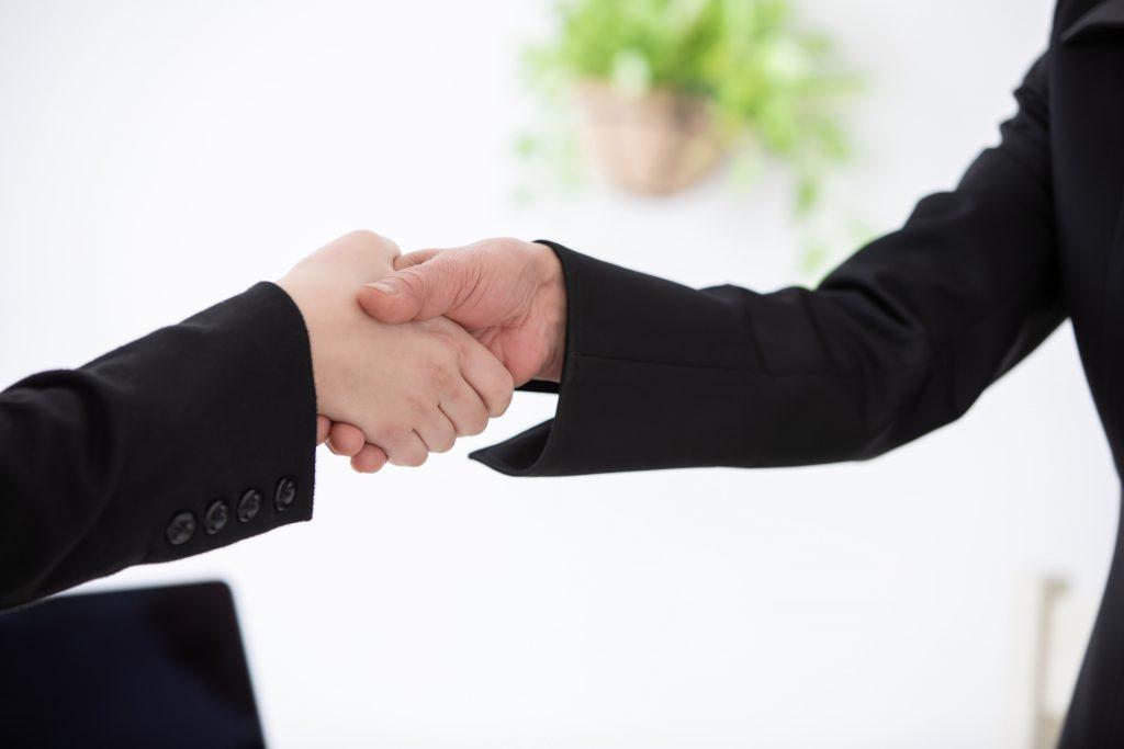 60歳以上の人材との雇用契約イメージ