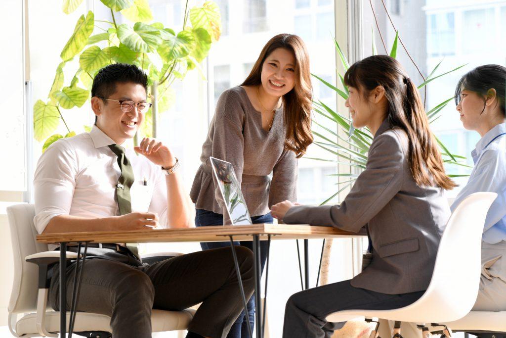 助成金を通じた職場環境改善の様子
