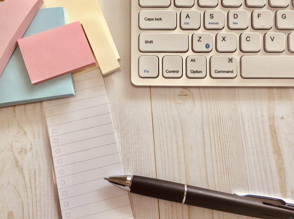 助成金申請に必要な書類チェックのイメージ