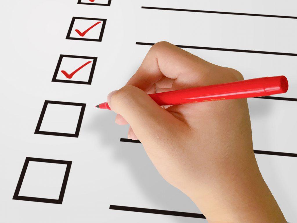 雇用調整助成金申請前のチェックリスト