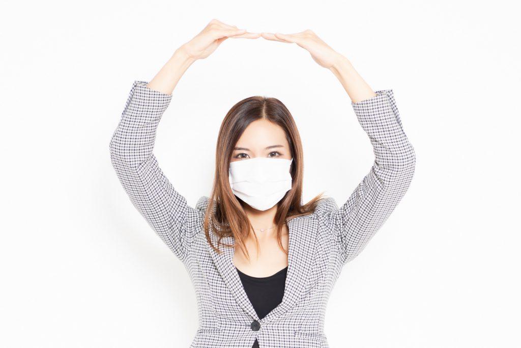 新型コロナウイルスによる緩和イメージ