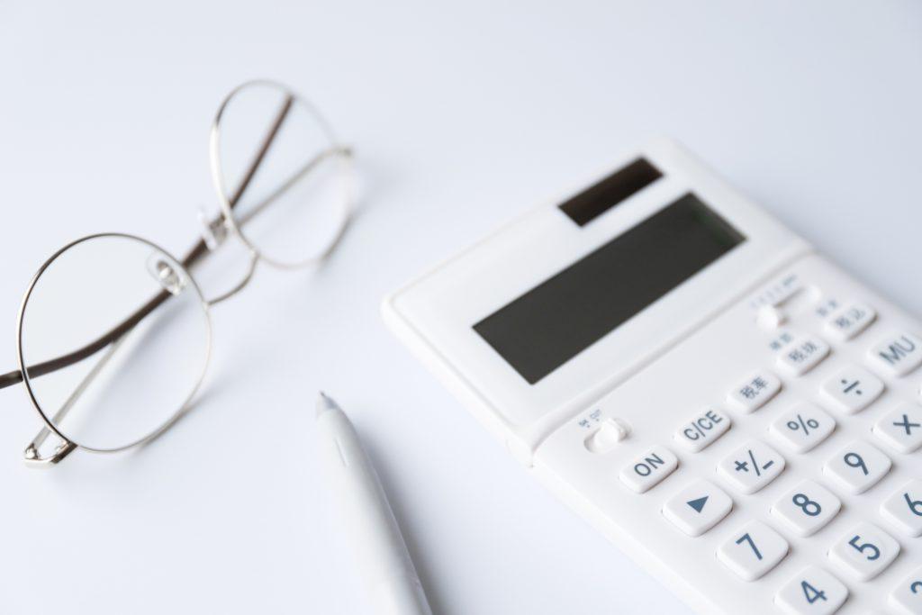 受給金額の計算イメージの電卓