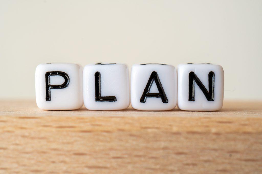 休業の計画立案イメージ