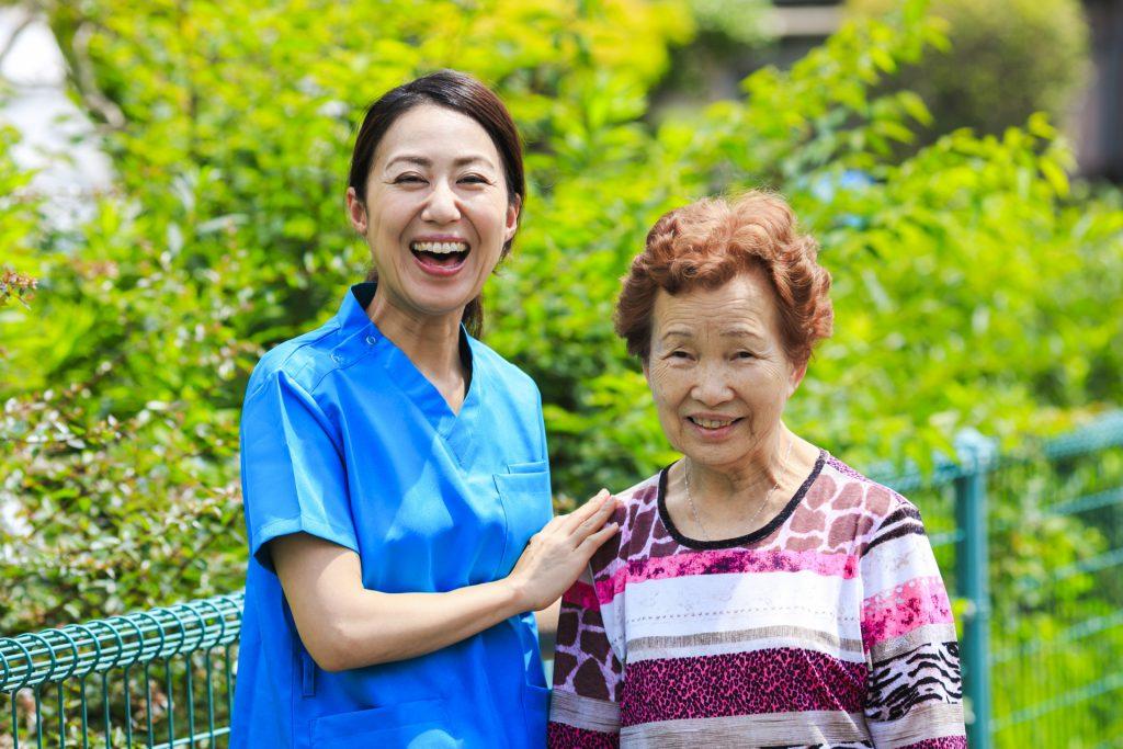 介護業界で働く女性